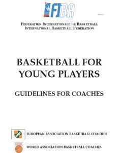 بسکتبال برای بازیکنان جوان